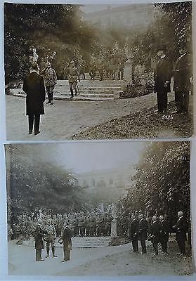 RARE Orig Photo LOT WWI German Soldier Hindenburg 1916 Ludendorff Kaiser Wilhelm 9