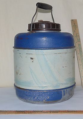 Vintage E-Z Serve THERMOS JUG  With Jar Thermos Liner Crock