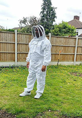 Beekeeping suit Beekeepers Bee Suit with Fencing Veil-All sizes UK Seller 3