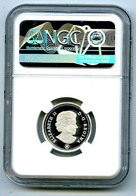 2019 Canada 25 Cent .9999 Silver Proof Quarter Ngc Pf70 Ucam First Releases 2