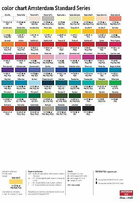 Amsterdam Standard Series Art Acrylic Paint 120ml - 80 Colours (Listing 2/2) 6