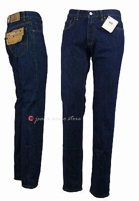 Pantalone 5 tasche cotone denim Carrera 700 jeans uomo Regular Fit Straight Legs 6