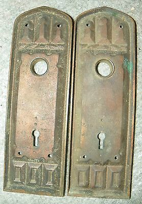 Pr Gothic Bronze Back Plates With Arched Motif 4810K 3