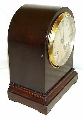Antique Mahogany Bracket Mantel Clock : Strikes on Hour & Half Past 4