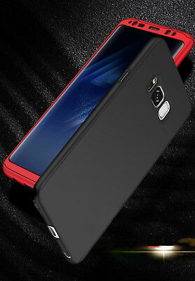 Luxury 360 Degree Full Cover Phone Shockproof Case For Samsung Galaxy S9 S8 Plus 2