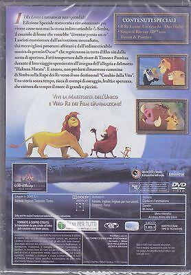 Dvd Disney **IL RE LEONE 1** nuovo 1994 2