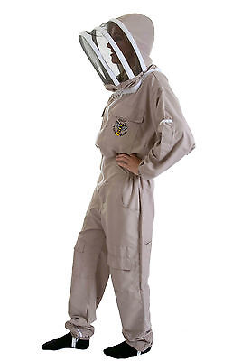 Lightweight BUZZ Beekeeping Bee suit - Colour latte - ALL SIZES 5