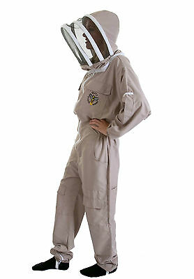 Lightweight BUZZ Beekeepers Bee suit - Colour latte, X X LARGE ( 2XL ) 3