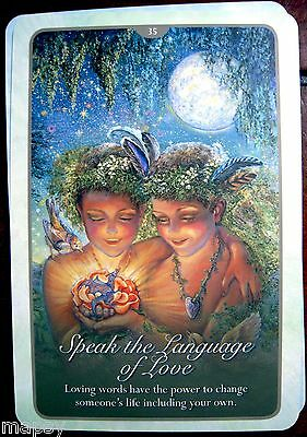 NEW Whispers of Love Oracle Cards Tarot Angela Hartfield Josephine Wall psychic 11