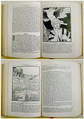 1912 SIGNED Bezalel LILIEN Luther BIBLE Jewish ART BOOK Art Nouveau JUGENDSTIL 7