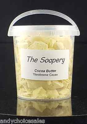 Cocoa Butter - Organic Raw Unrefined Pure Natural Cacao 25g - 1kg Food and Skin
