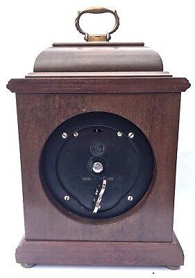 ELLIOTT LONDON Walnut & Burr Walnut Bracket Mantel Clock MAPPIN & WEBB LTD 3