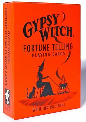 Gypsy Witch Tarot Deck Playing Cards Esoteric Telling Us Games Systems New 2
