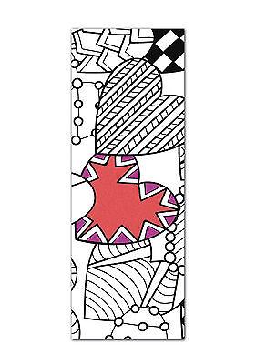 LESEZEICHEN ZUM AUSMALEN, coloring Bookmarks, Lesezeichen-Set 4 ...