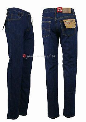 Pantalone 5 tasche cotone denim Carrera 700 jeans uomo Regular Fit Straight Legs 7