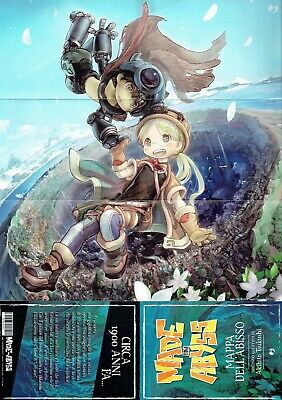 J POP Made in Abyss Mappa dell'Abisso + The Promised Neverland - Gagdet 2