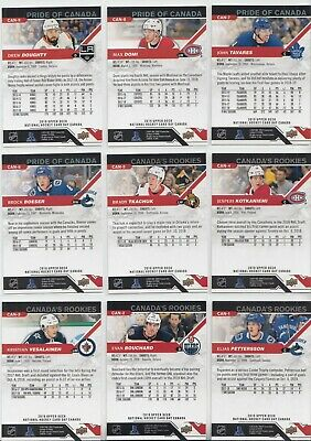 """2019 Upper Deck National Hockey Card Day (Canada) Complete """"17"""" CARD SET 3"""