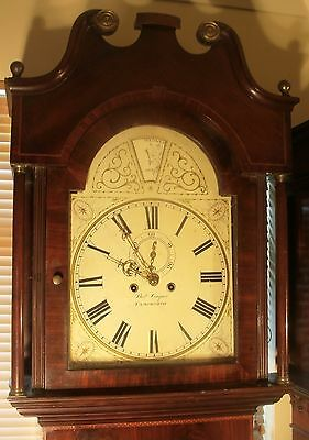 "Antique Mahogany "" Tamsworth"" Automation Zodiac Longcase / Grandfather Clock 8"