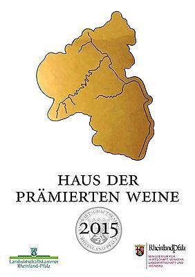 Weingut Kraus: 2018er Kerner trocken 3 Fl. Pfälzer Wein - Weißwein Literflasche 2