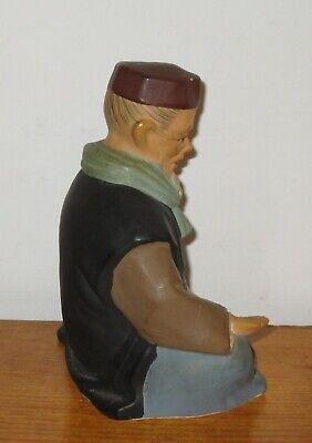 Hakata Urasaki Doll Figurine Handmade Old Man Sitting Holding Food 8