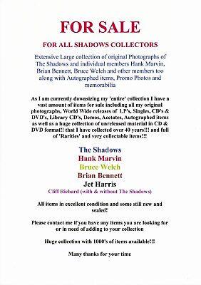 Hank Marvin / The Shadows Tour Memorbillia Pin & Button badges 2