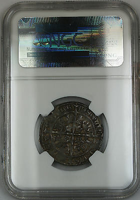 1357-67 Scotland Fourpence Groat Silver Coin S-5100 David II NGC VF-35 AKR