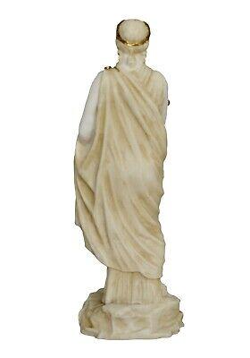 Demeter Alabaster aged statue - Ancient Greek Goddess of Agriculture and Harvest 5