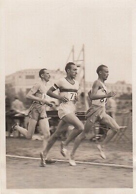 Athletisme, Rochard 4 Photos argentiques 1938/42/ ©Trampus 3
