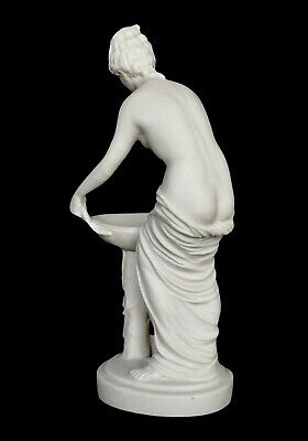Hestia Alabaster sculpture - Greek Goddess of the Family and the State 7