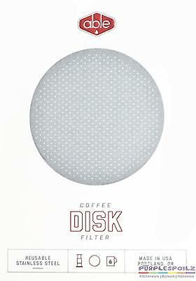 NEW ABLE DISK FILTER Standard Resuable Aeropress Dripper Coffee Cup Pour Over