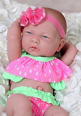 SUMMER GIRL PREEMIE Berenguer Newborn Baby Doll Clothes ...