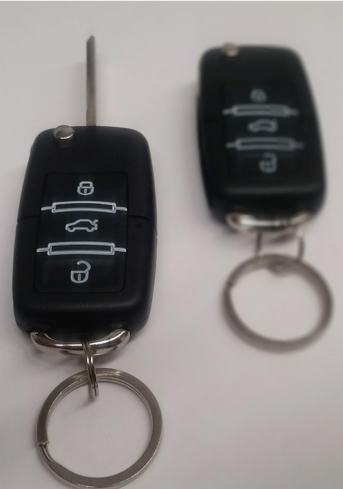 Jom Funkfernbedienung Plug /& Play Kit Klappschlüssel VW Polo 6N