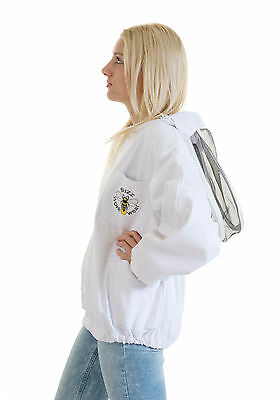 Buzz Beekeepers Bee Jacket/Tunic  (Pullover style with fencing veil) - ALL SIZES 5