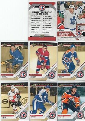 """2019 Upper Deck National Hockey Card Day (Canada) Complete """"17"""" CARD SET 2"""