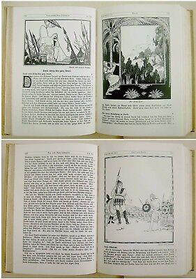 1912 SIGNED Bezalel LILIEN Luther BIBLE Jewish ART BOOK Art Nouveau JUGENDSTIL 11