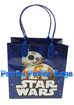 12 Pc Star Wars Party Favor Bags Storm Toopers Candy Treat Birthday Toy Gift Bag 3