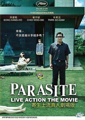 Parasite (2019) ~ All Region ~ Brand New Factory Seal ~ Korean MV 2