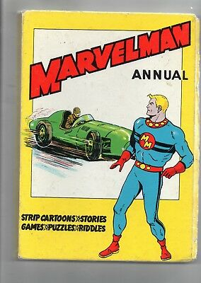 Marvelman Annual / Good+ / L.miller 1960 / Unclipped / Mick Anglo Art. 2