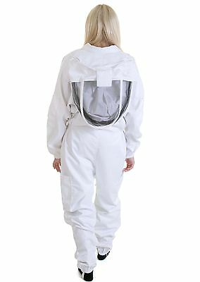 BUZZ Bee suit with fencing veil and white leather Gloves - All sizes available 3