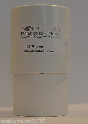 Zooplankton Sieves - 50-125-250-Micron Good for Copepods Rotifers Brineshrimp 2