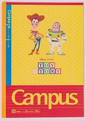Sun-star /& Kokuyo Stationery Disney PIXAR Campus Notebook x5 2019 Toy Story NEMO