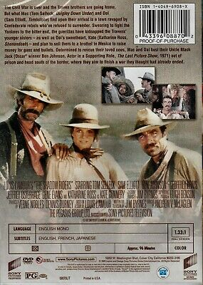 New Dvd - The Shadow Riders - Tom Selleck , Sam Elliott - Louis L'amour Western 2