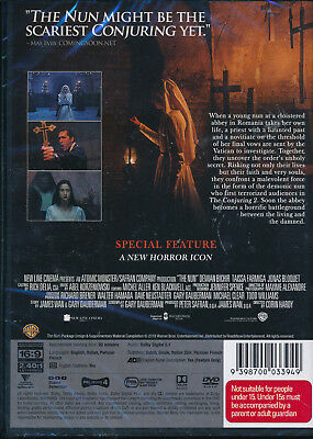 The Nun DVD NEW Region 4 2