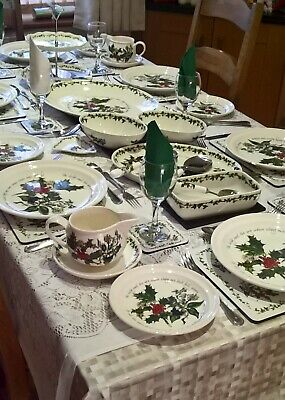 Portmeirion The Holly And The Ivy Tableware - Various - Plates - Bowls New 5