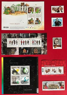 Canada 2012 Postage Stamps - Complete Year Annual Collection Stamp - Free Ship 5