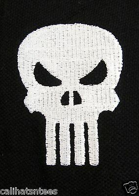 cb49a08c1 ... 5Only 2 available The PUNISHER Marvel Comics Antihero Polo Rugby Shirt  Comic Book Men's SMALL New 3