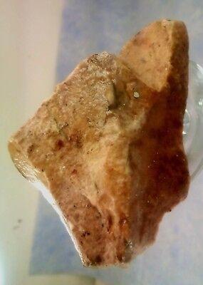 Stone-age Aex-Head Aex. Paleolithic period. Jordan Rift Valley.