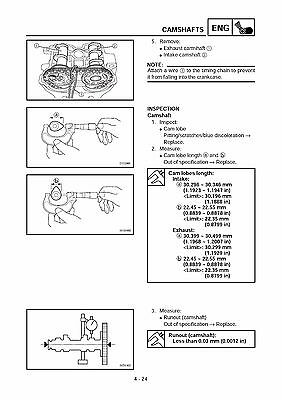 Array - yamaha service workshop manual 2004 yz250f   yz250f s     22 50      rh   picclick com