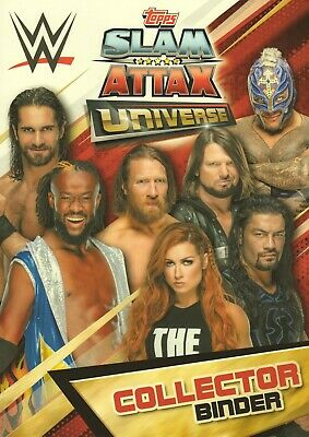 2019 WWE Slam Attax UNIVERSE - RAW SMACKDOWN NXT LEGENDS & 205 LIVE cards 2