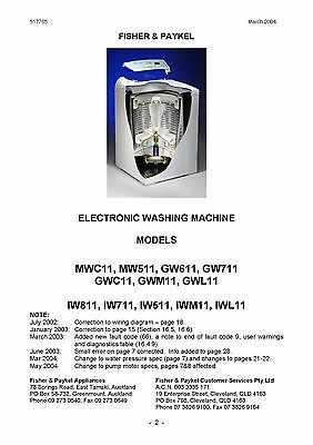 fisher and paykel washer manual